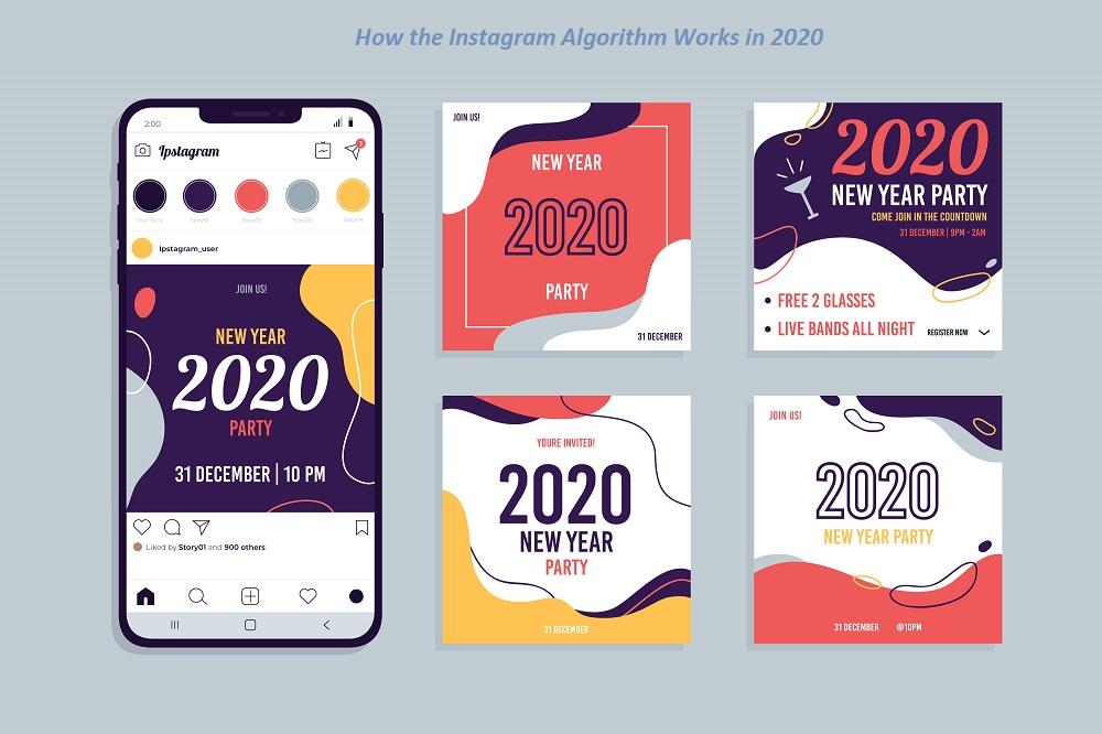 الگوریتم های اینستاگرام در سال 2020