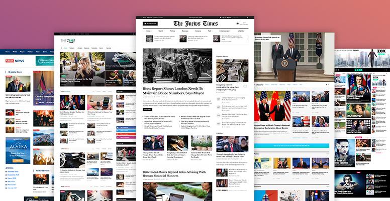 طراحی سایت خبری وردپرس اتوماتیک