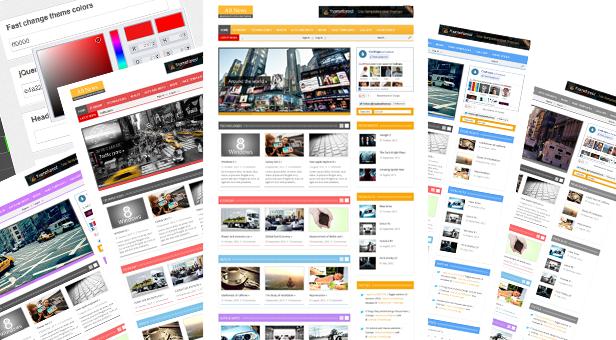 طراحی وب سایت خبری وردپرس اتوماتیک