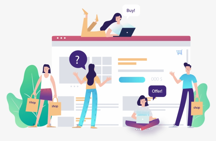 هزینه طراحی فروشگاه اینترنتی آنلاین